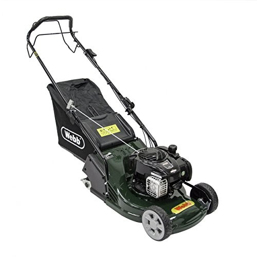"""Webb 17""""(42cm) Petrol Lawn mower with Rear Roller and ABS Deck"""