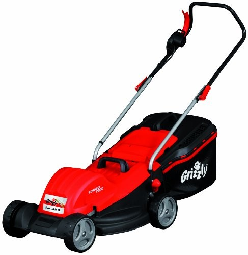 grizzly erm1844g 1800w electric lawn mower best deals on. Black Bedroom Furniture Sets. Home Design Ideas