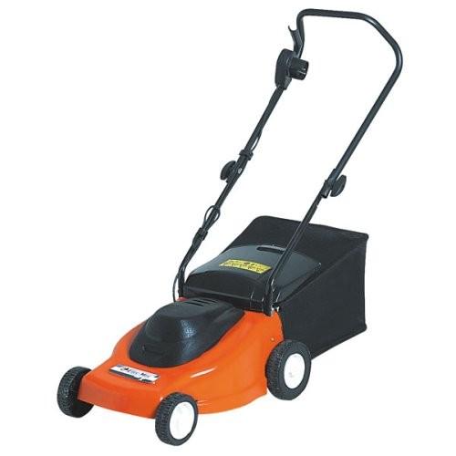 oleo mac 38cm electric lawn mower best deals on. Black Bedroom Furniture Sets. Home Design Ideas