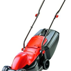 Flymo Easimo Electric Wheeled Rotary Lawnmower, 900 W - Orange/Black