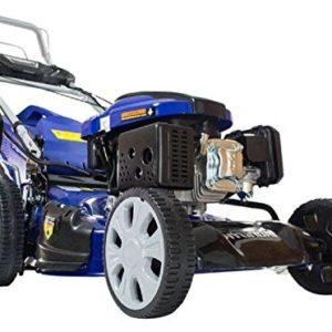 Hyundai 159cc 4-in-1 Self-Propelled Electric Start Petrol Lawn Mower HYM46SPE