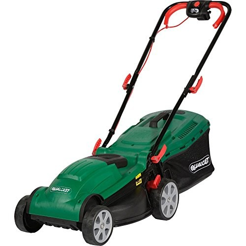 qualcast electric rotary lawnmower 1400w best deals. Black Bedroom Furniture Sets. Home Design Ideas