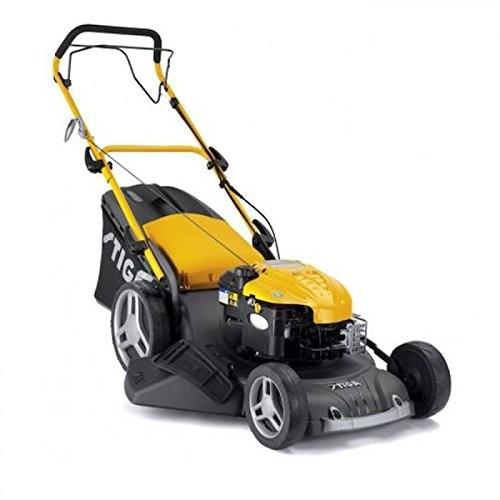 Stiga 53 SQ Garden Combi B&S Petrol Lawnmower 3 in 1 Large Capacity 190cc - 51cm